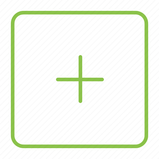 add, box icon