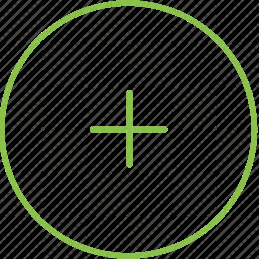 add, circle, compressor icon