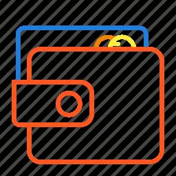 account, balance, compressor, wallet icon