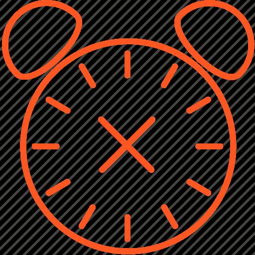 alarm, compressor, off icon