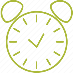 alarm, compressor, on icon