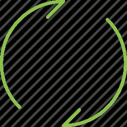 autorenew, compressor icon