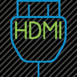 hdmi, input, settings icon