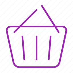 basket, compressor, shopping icon
