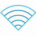 bar, signal, wifi icon