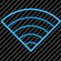 bar, compressor, signal, wifi icon