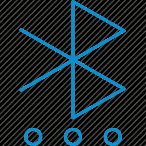 bluetooth, settings icon