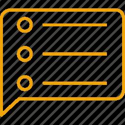 compressor, notes, speaker icon