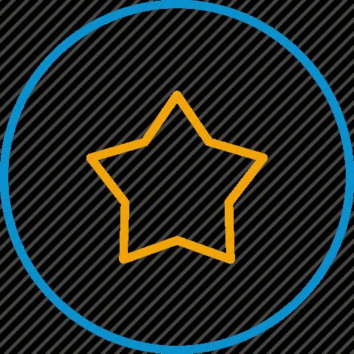 compressor, stars icon