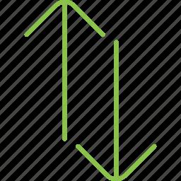 swap, vert icon