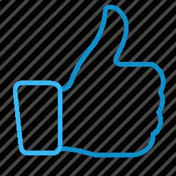 compressor, thumb, up icon