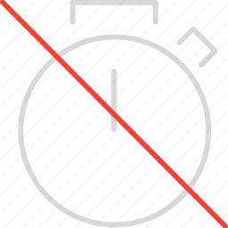 off, timer icon