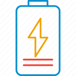 battery, charging, compressor icon
