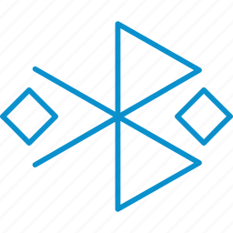 bluetooth, compressor, connected icon