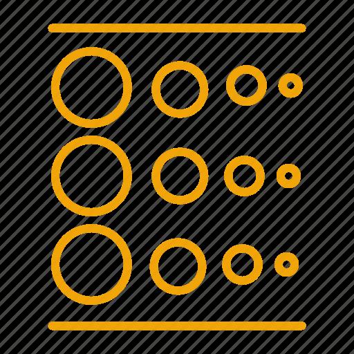 blur, linear icon