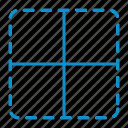 border, inner icon