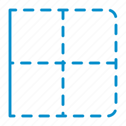 border, compressor, left icon