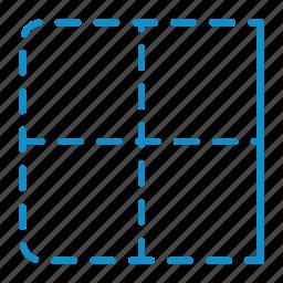 border, compressor, right icon
