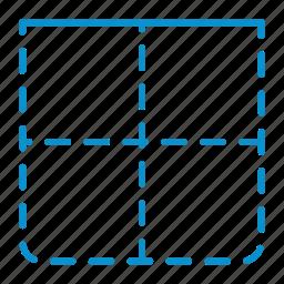 border, compressor, top icon