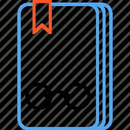 book, compressor icon