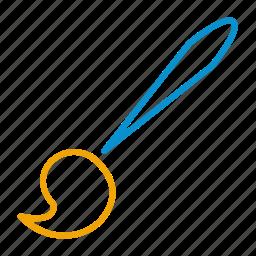 brush, compressor icon