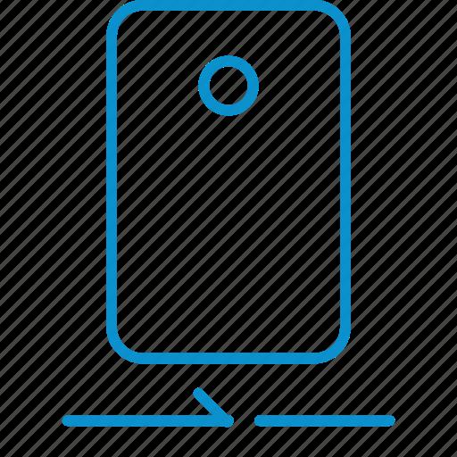 camera, compressor, rear icon