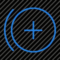 compressor, control, duplicate, point icon