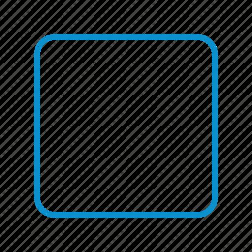 compressor, crop, square icon