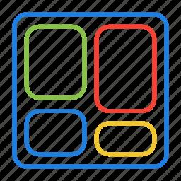 compressor, dashboard icon