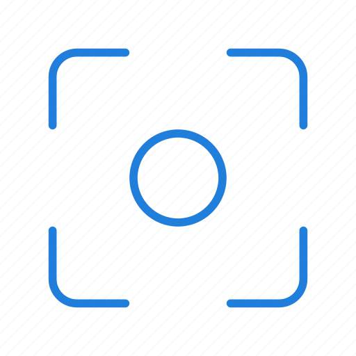 center, filter, focus icon
