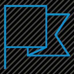 compressor, flag icon