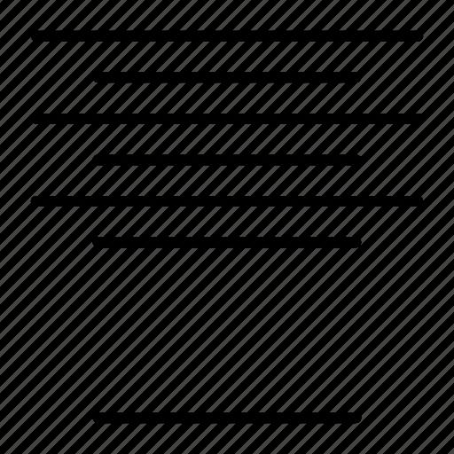 align, center, compressor, format icon