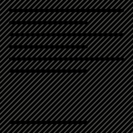 align, compressor, format, left icon