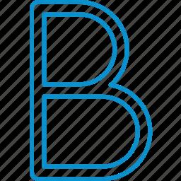 bold, compressor, format icon