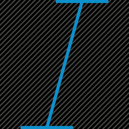 compressor, format, italic icon
