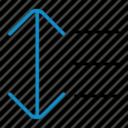 compressor, format, line, spacing icon