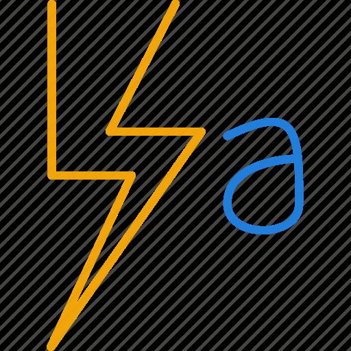 auto, compressor, flash icon