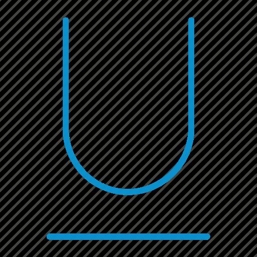 compressor, format, underline icon