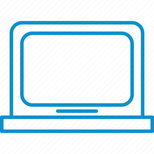chromebook, compressor, laptop icon