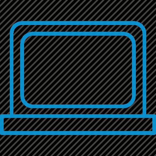 compressor, laptop icon