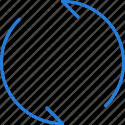 compressor, loop icon