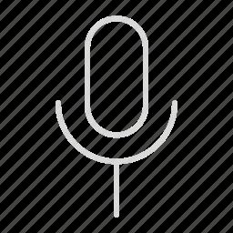 compressor, mic, none icon