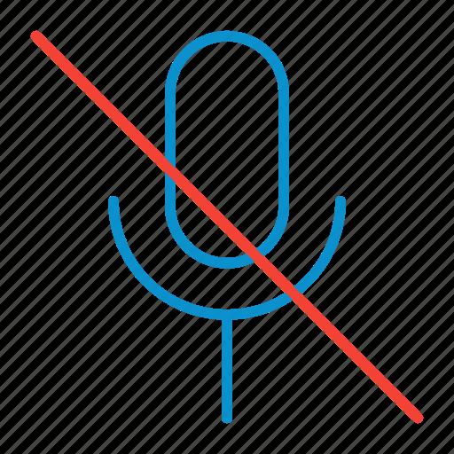 mic, off icon