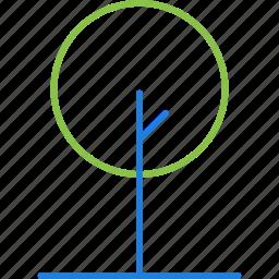 compressor, nature icon