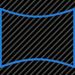 compressor, horizontal, panorama icon