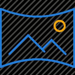compressor, panorama icon