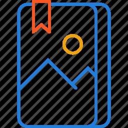 album, compressor, photo icon