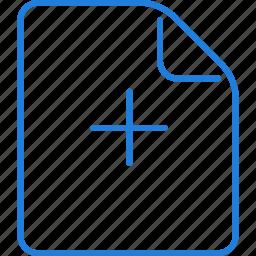 add, compressor, note icon
