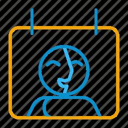 cal, compressor, contact, perm icon