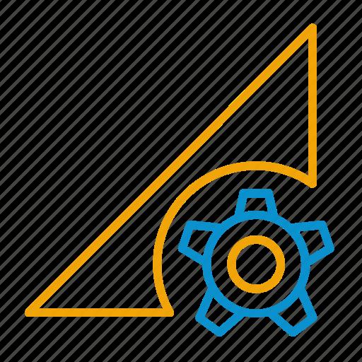 compressor, data, perm, setting icon